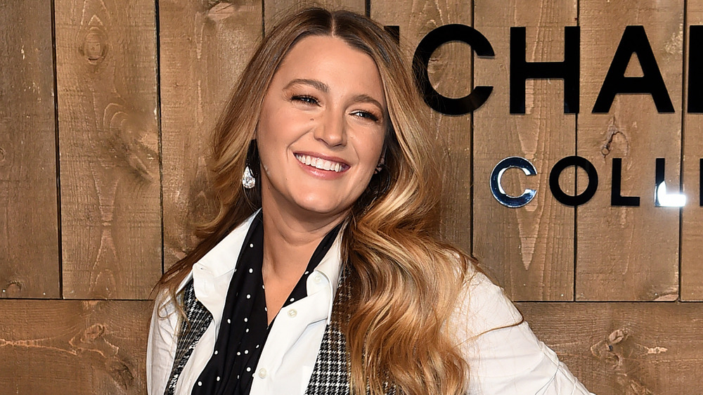 Blake Lively wears fashion-forward outfit