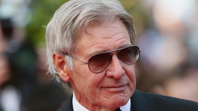Harrison Ford in sunglasses