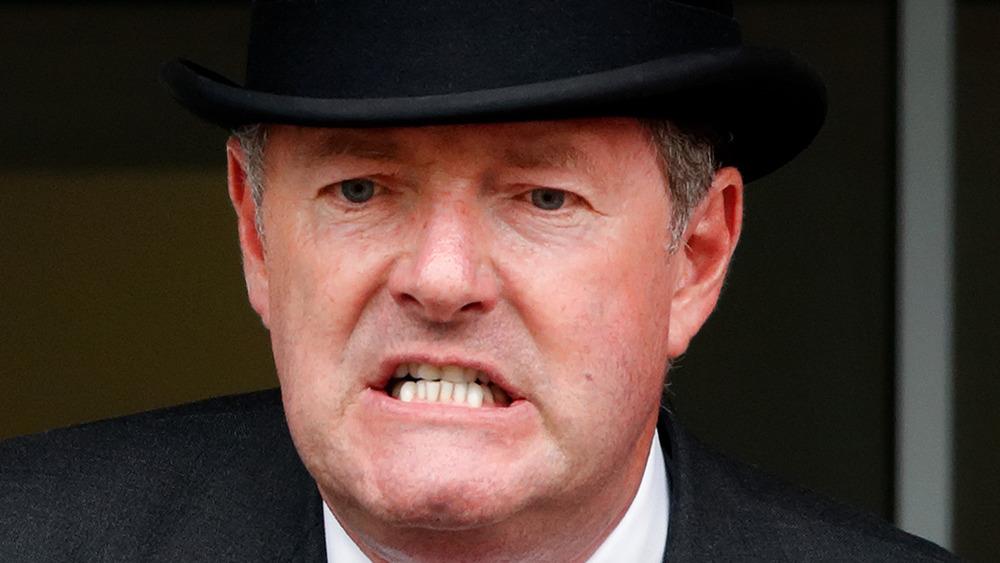 Piers Morgan scowling