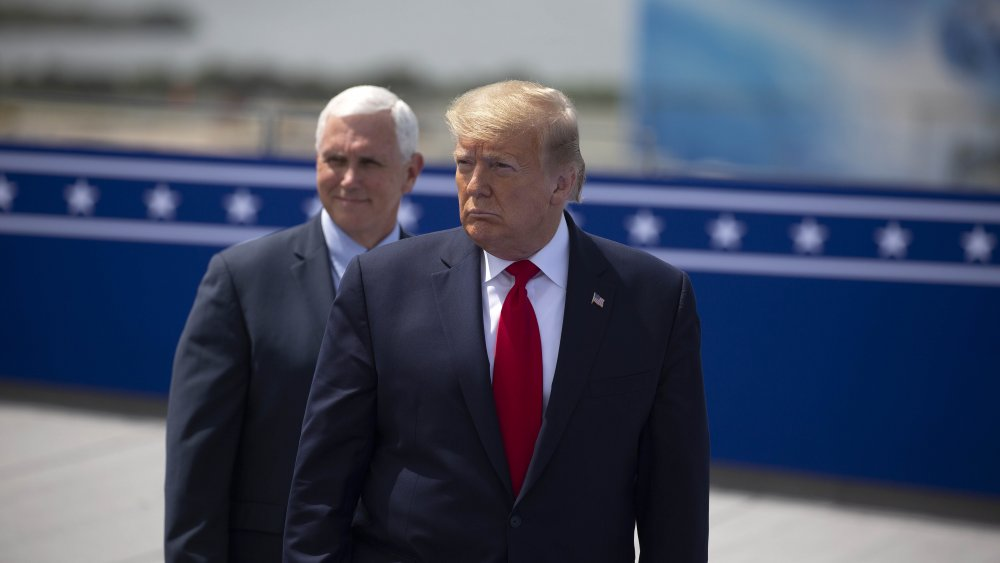 Trump and Pence together