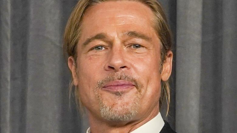 Brad Pitt at event
