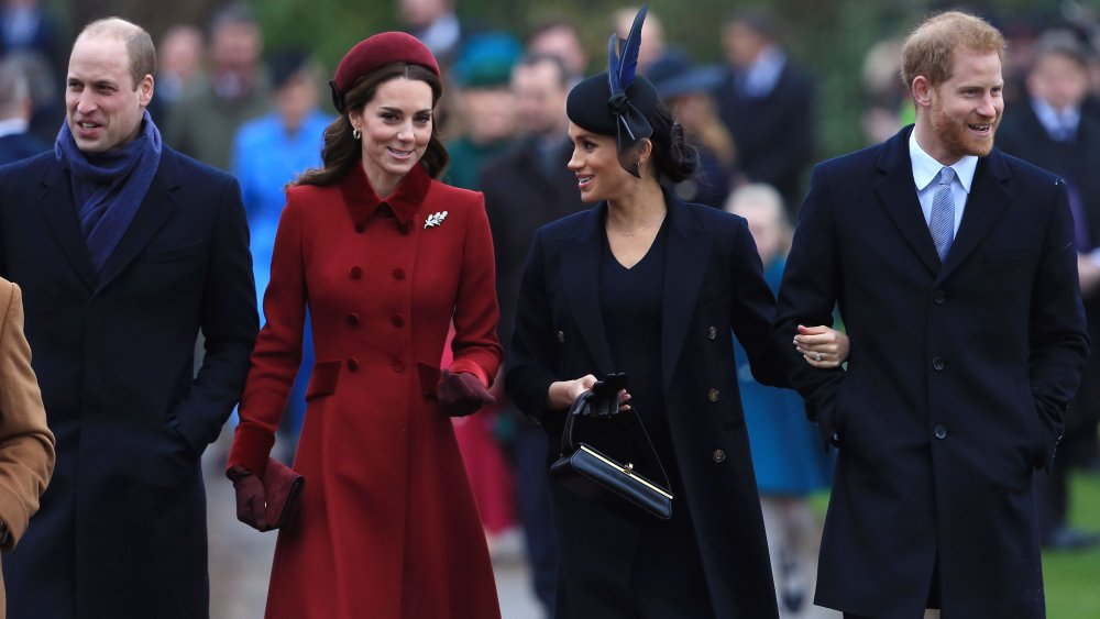 William, Harry, Kate, and Meghan