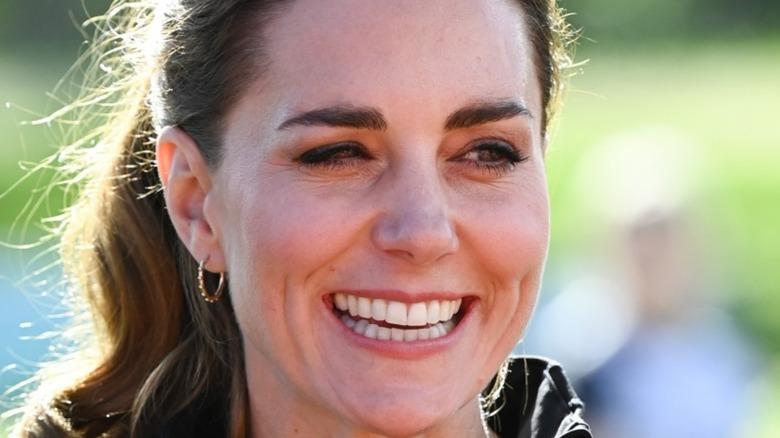 Kate Middleton smiling widely
