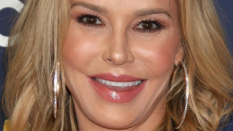 close up of Brandi Glanville's face