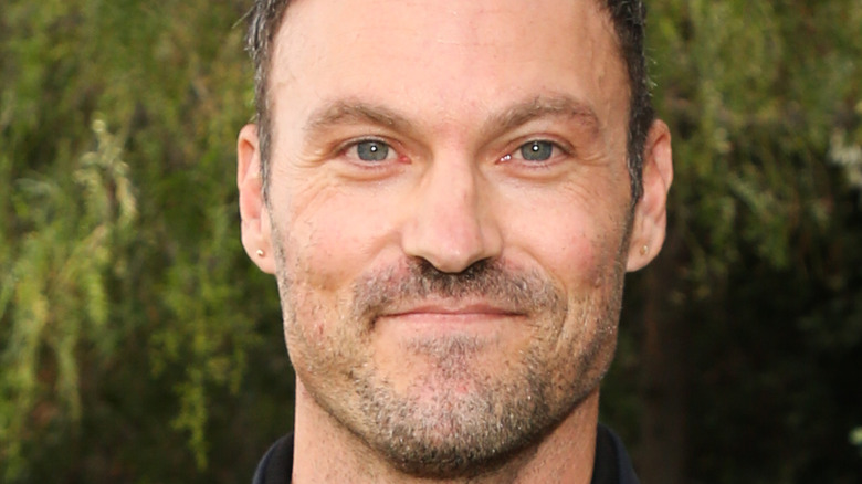 Brian Austin Green poses for the camera.