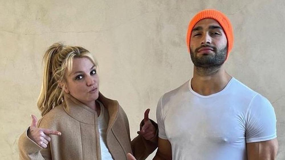 Britney Spears' boyfriend voices his support