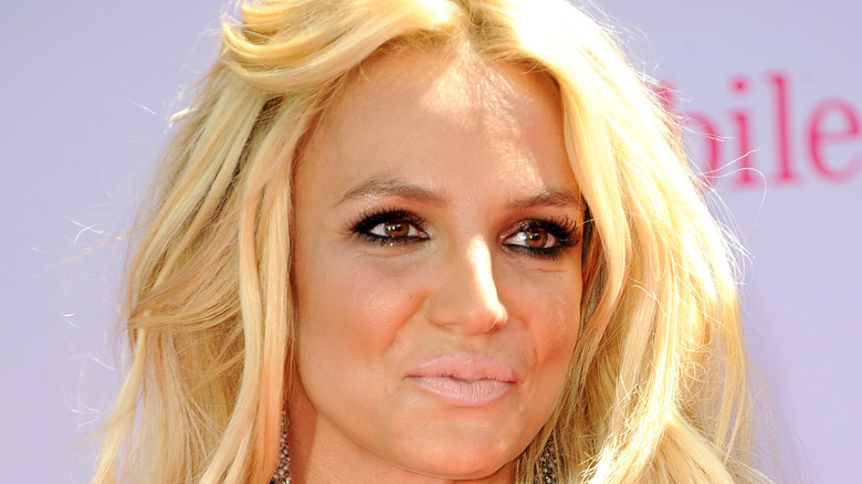 Britney Spears smiling