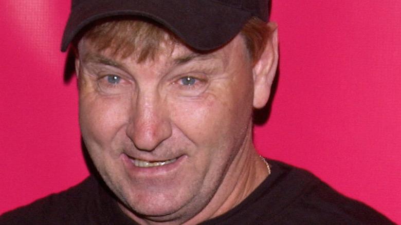 Jamie Spears wearing baseball cap