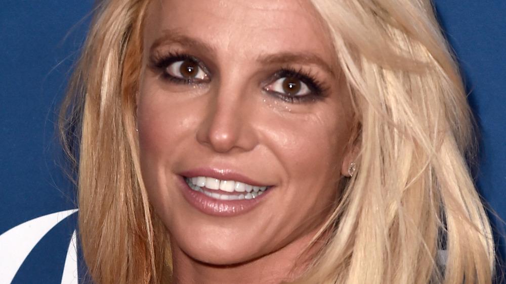 Britney Spears smiling red carpet