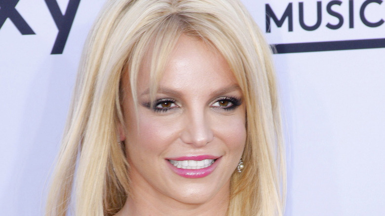 Britney Spears on the red carpet.