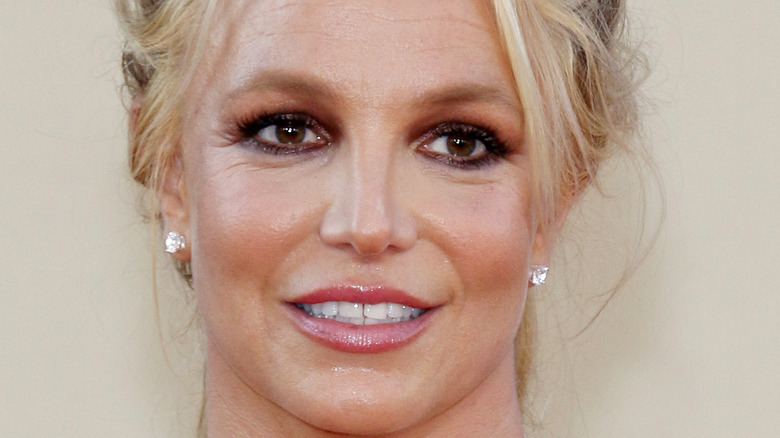 Britney Spears attending an event