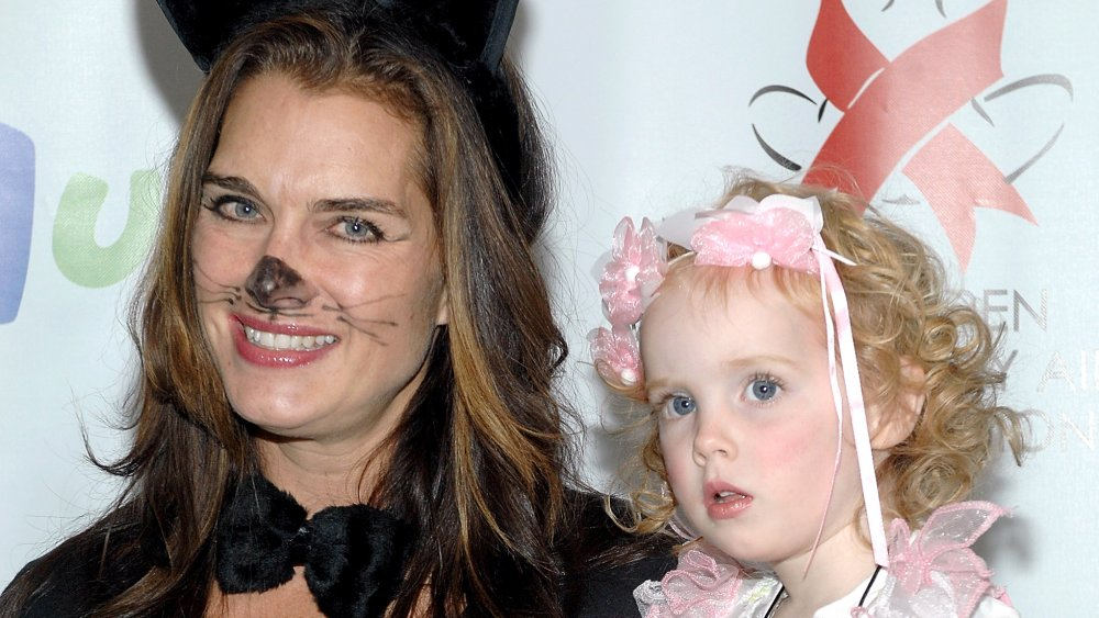 Brooke Shields and daughter Grier Hammond Henchy at a fundraiser in 2008