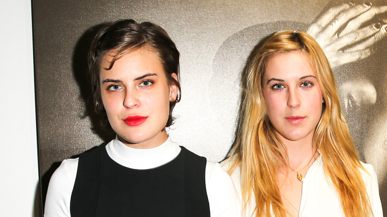 Scout and Tallulah Willis