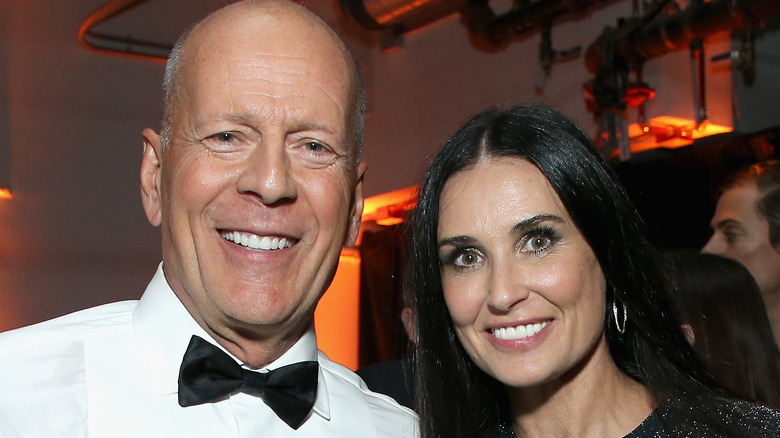 Bruce Willis and Demi Moore