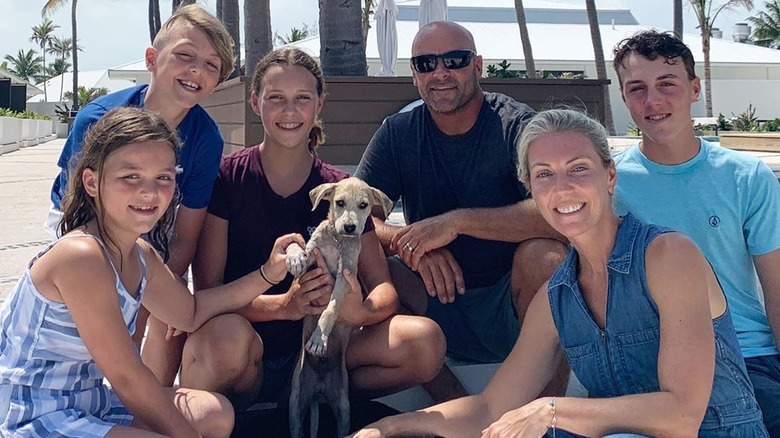 Bryan Baeumler and his family