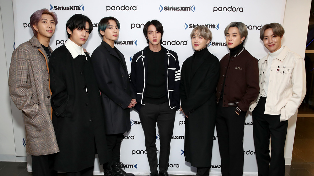 BTS at event