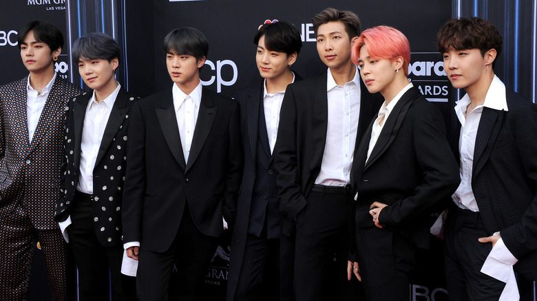 BTS on the red carpet
