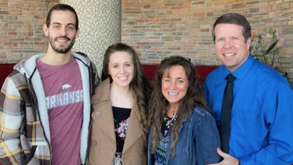 Jill Duggar, happy with her parents