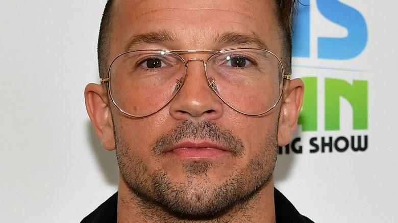 Carl Lentz wearing glasses