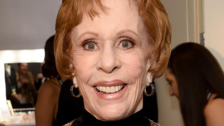 Carol Burnett smiling