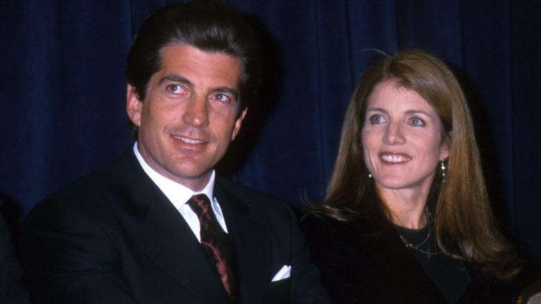 Carolina Kennedy and John F. Kennedy Jr.