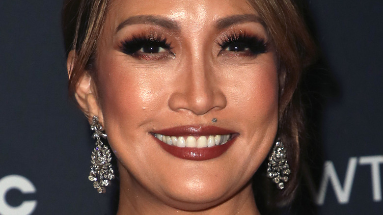 Carrie Ann Inaba up close with her hair back