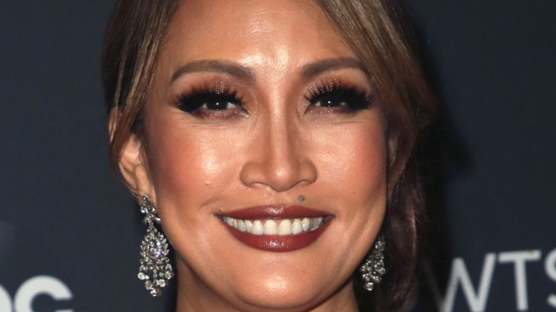 Carrie Ann Inaba posing on the red carpet