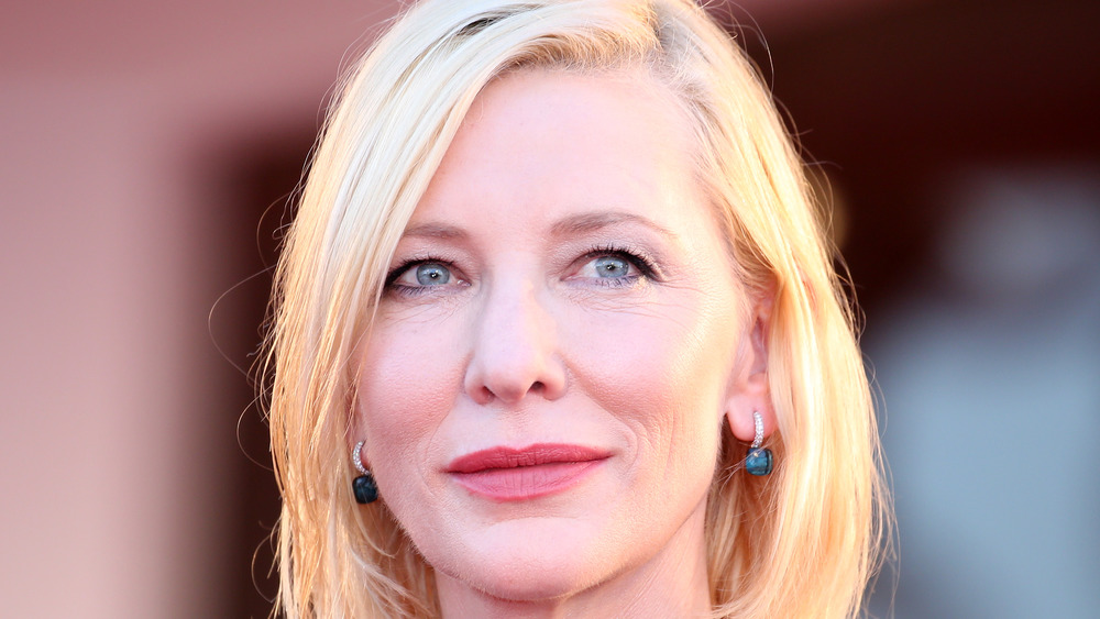 Wistful Cate Blanchett