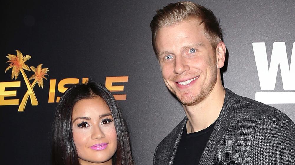 Catherine Giudici and Sean Lowe of The Bachelor