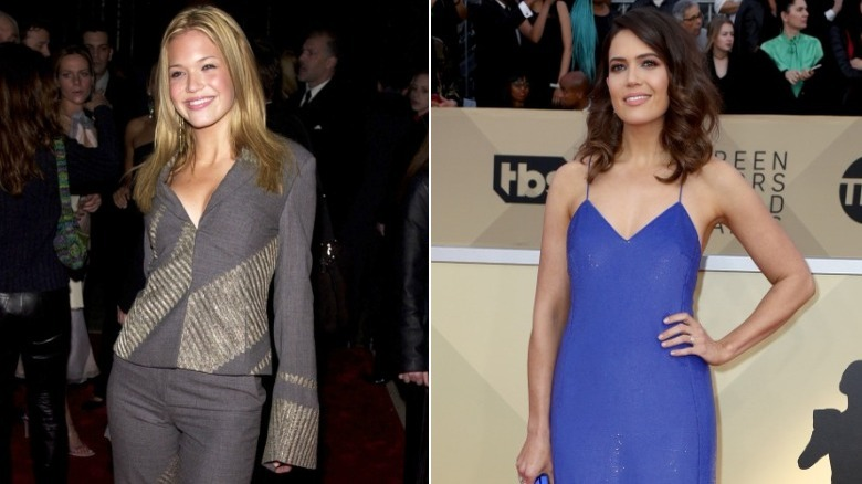 Mandy Moore before and after natural hair