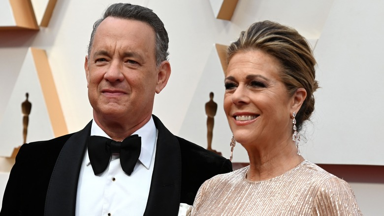 Tom Hanks and Rita Wilson, who have been diagnosed with coronavirus