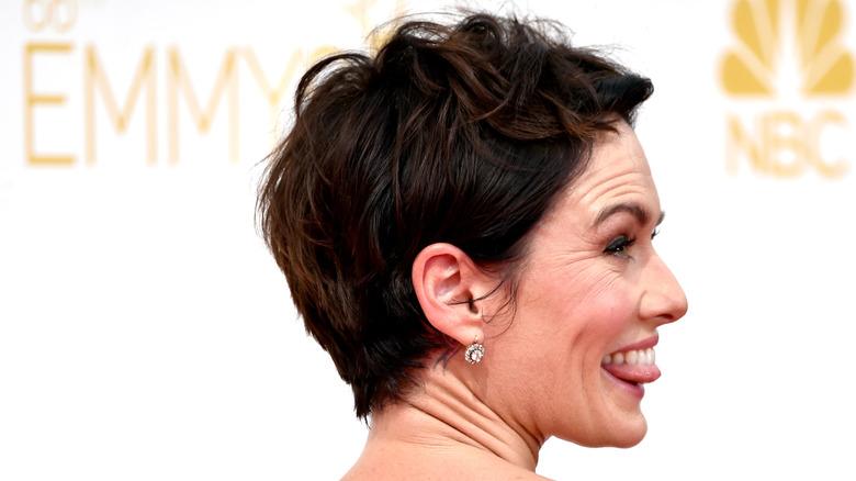 Lena Headey at Emmy Awards