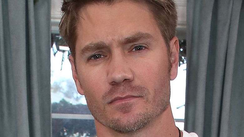 Chad Michael Murray poses for the camera.