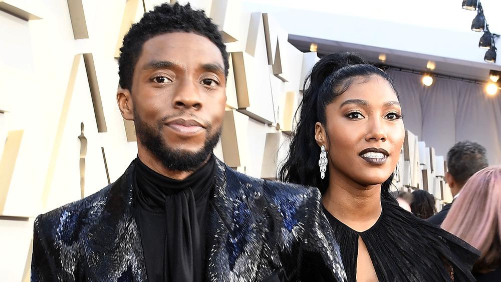 Chadwick and Simone Boseman