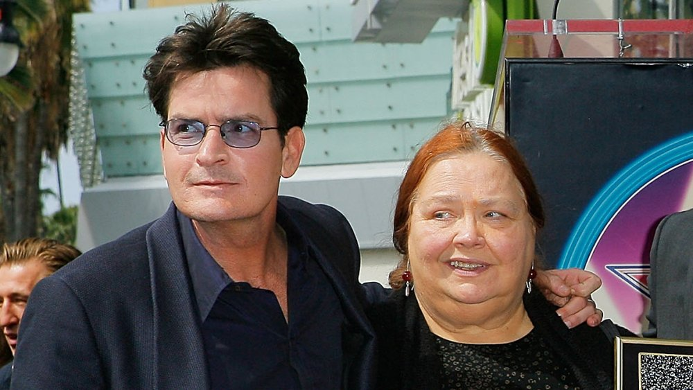 Charlie Sheen and Conchata Ferrell