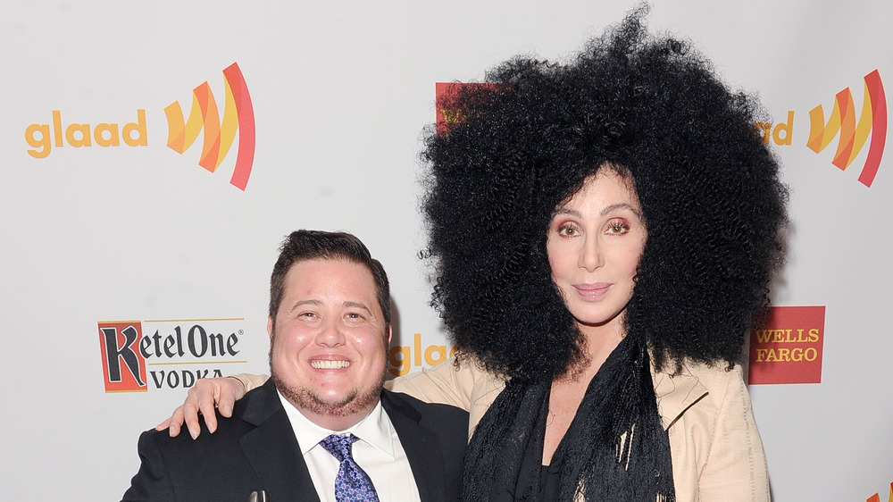 Cher and Chaz smiling at an event