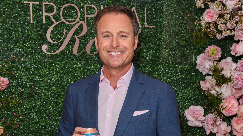 Chris Harrison in suit at event