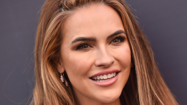 Chrishell Stause on the red carpet