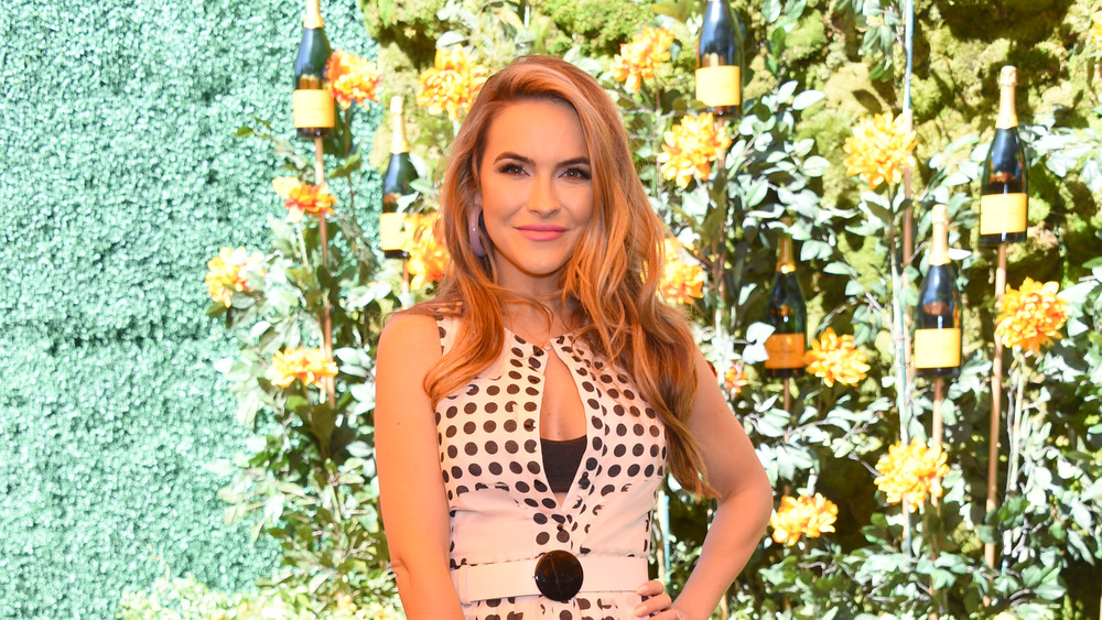Chrishell Stause smiles at event