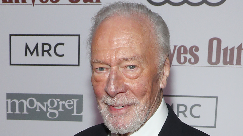 Christopher Plummer at Knives Out event