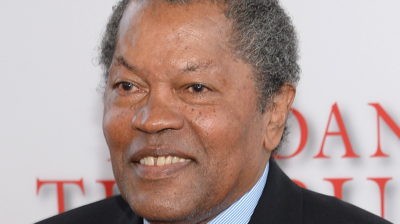Clarence Williams III smiling