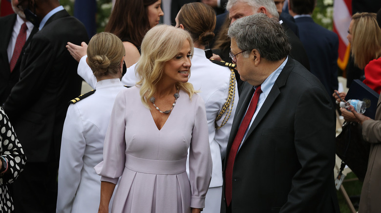 Kellyanne Conway at the SCOTUS Event