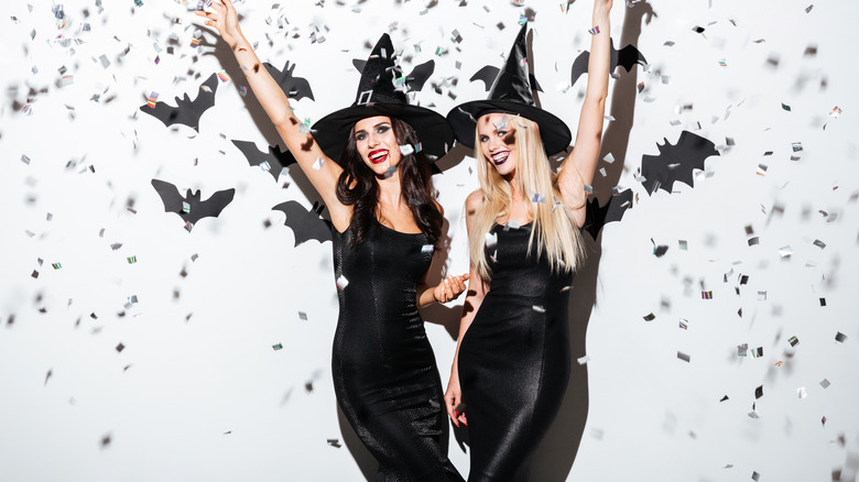Halloween costume witches