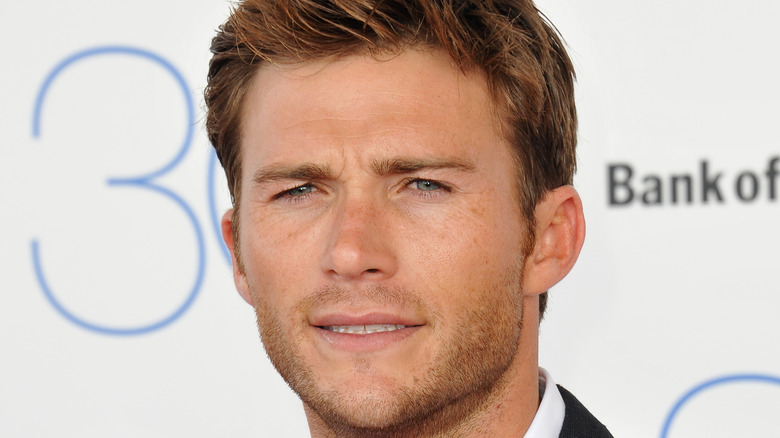 Scott Eastwood on the red carpet