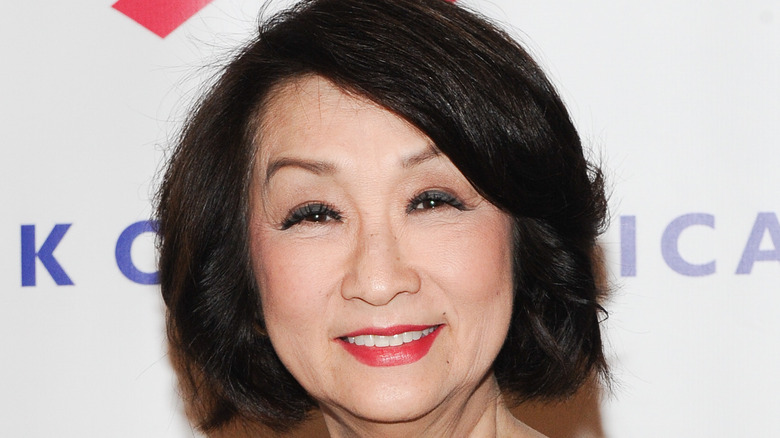 Connie Chung at an event