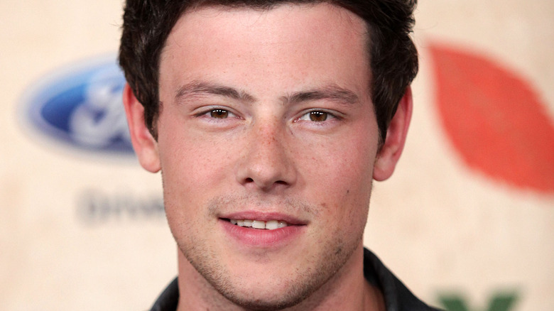 Cory Monteith smiling