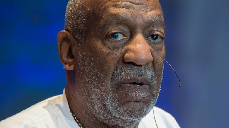 Bill Cosby looking dumbfounded