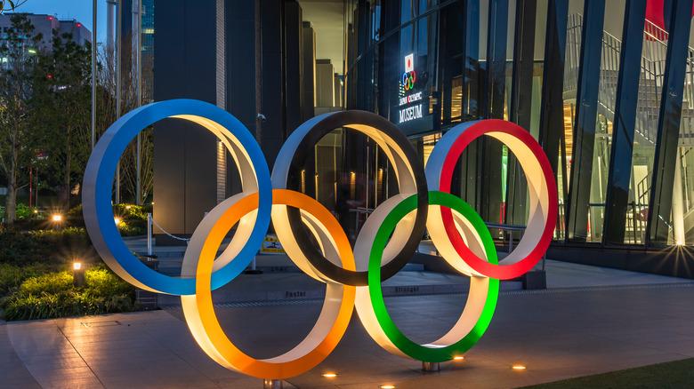Olympics sculpture
