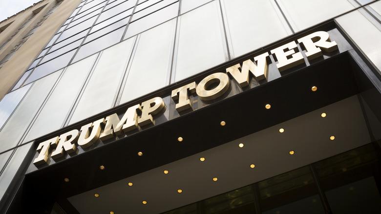 Facade of New York's Trump Tower