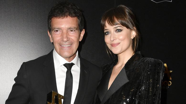 Banderas and Johnson Hollywood Film Awards